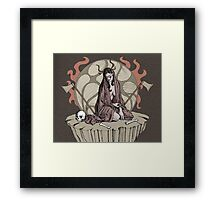 Mourning Framed Print