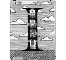 Letter I Architecture Section Alphabet iPad Case/Skin