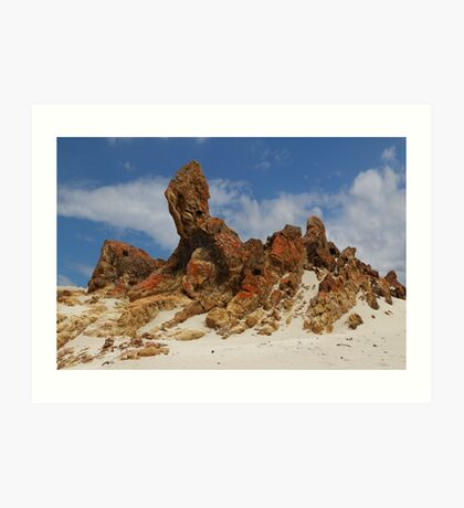 Sphinx of South Australia Art Print
