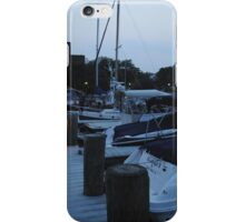 Harbor on the Potomac River iPhone Case/Skin