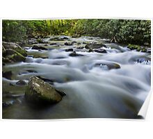 Oconaluftee River Rapids in the Great Smoky Mountain National Park Poster