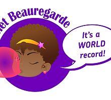 Violet Beauregarde Head by FafaCascardo