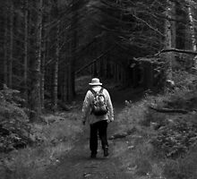 Grandfather in the Woods by taudalpoi