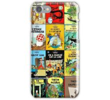 Tintin Book Covers iPhone Case/Skin