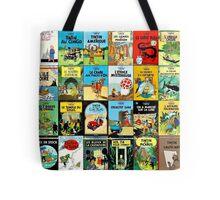 Tintin Book Covers Tote Bag