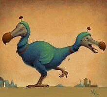 2 Headed Dodo by Mark Elliott