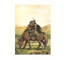 Bill the Pony Art Print