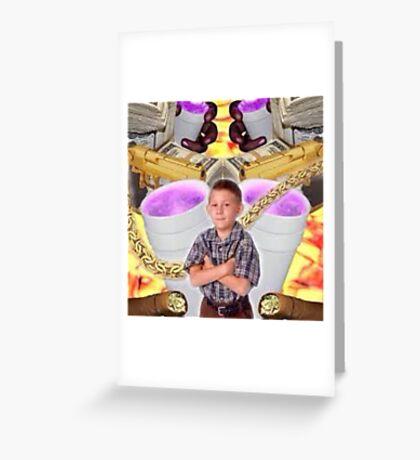 Trap Dewey Greeting Card