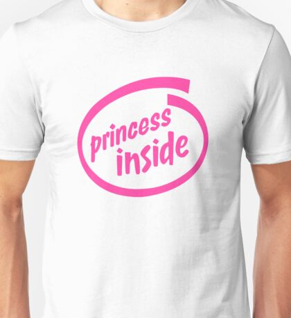 Princess Inside Unisex T-Shirt