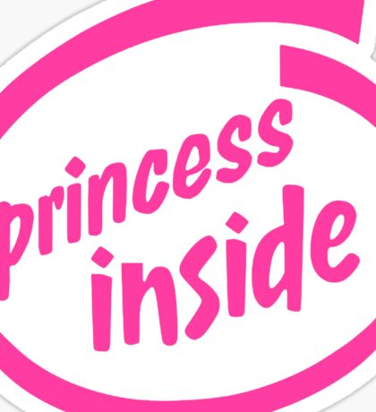 Princess Inside Sticker