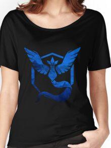 Team Mystic Logo Women's Relaxed Fit T-Shirt
