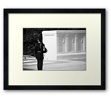 Tomb of the Unknown - 1 Framed Print