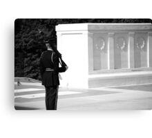 Tomb of the Unknown - 1 Canvas Print