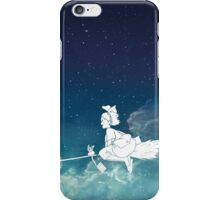 Kiki's Delivery Service at Night iPhone Case/Skin