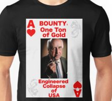 Wanted ACE of HEARTS Unisex T-Shirt