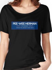 Pee-Wee For President  Women's Relaxed Fit T-Shirt