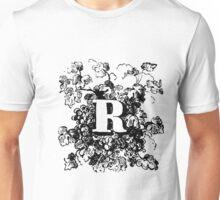Plant Alphabet Letter R Unisex T-Shirt