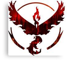 Team Valor Logo Canvas Print