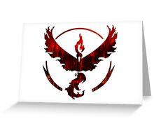 Team Valor Logo Greeting Card