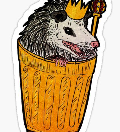 trash royalty Sticker