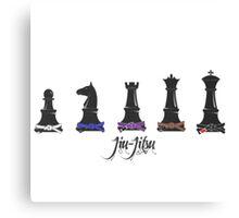 Human Chess Canvas Print