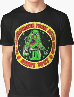 Bad Mofo from Outer Space Colour 2 Graphic T-Shirt