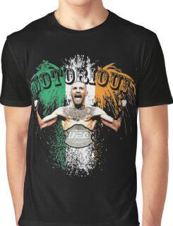 Conor McGregor Notorious UFC Graphic T-Shirt