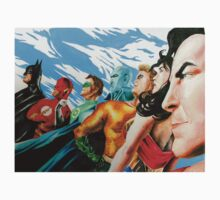 Alex Ross Inspired Justice League T-Shirt