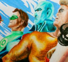 Alex Ross Inspired Justice League Sticker