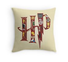 Harry Potter Collage Throw Pillow