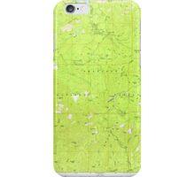 USGS TOPO Map Arizona AZ Groom Creek 311591 1974 24000 iPhone Case/Skin