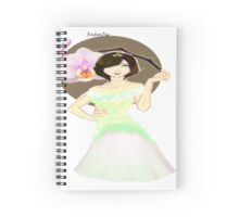 Orchid Princess Spiral Notebook