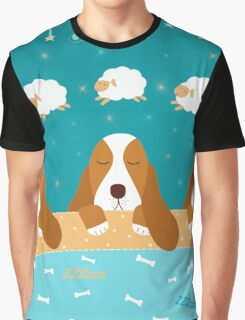 ZZZzzz - Sleeping Dogs Graphic T-Shirt