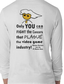 The Gaming Industry Needs Our Help - Gamer Master Funny Geek Meme Long Sleeve T-Shirt