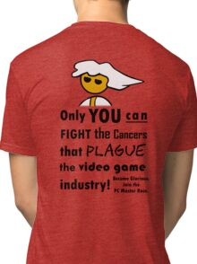 The Gaming Industry Needs Our Help - Gamer Master Funny Geek Meme Tri-blend T-Shirt