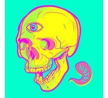 LSD Skull Photographic Print