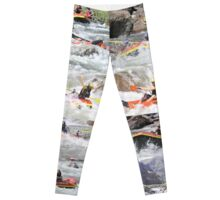 White Water Rafting Leggings Leggings