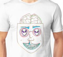alien eyes color Unisex T-Shirt