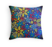 Trendy Floral Pattern Throw Pillow