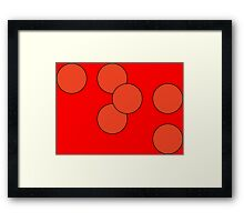 Daredevil Braille Framed Print
