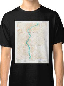 USGS TOPO Map Arizona AZ Willow Beach 314127 1959 24000 Classic T-Shirt