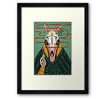 Tacodillo Framed Print