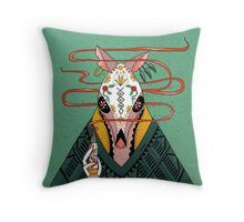 Tacodillo Throw Pillow