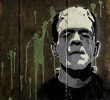 Frankenstein's Monster  by barry neeson
