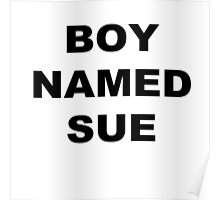 A Boy Named Sue Poster