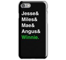 The Tucks (and Winnie) iPhone Case/Skin