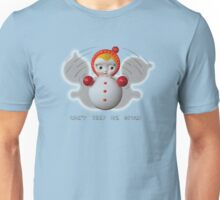 Can't Keep Me Down!  Roly-poly doll as Symbol of Resilience Unisex T-Shirt