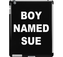Boy Named Sue iPad Case/Skin