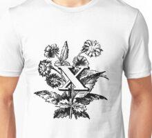 Plant Alphabet Letter X Unisex T-Shirt