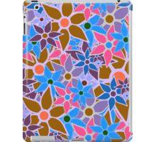 Trendy Floral Pattern Vintage iPad Case/Skin